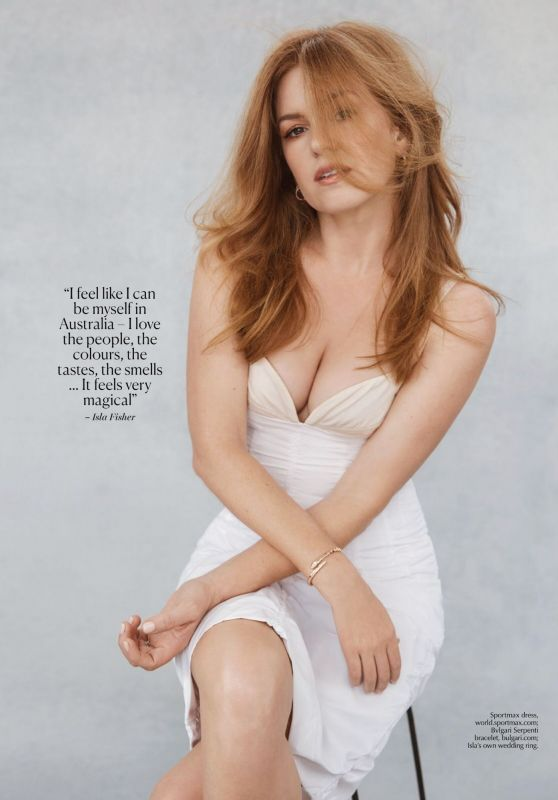 Isla Fisher - Marie Claire Australia June 2021 Issue