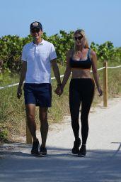 Ivanka Trump in a Sports Bra and Leggings - Miami 05/08/2021