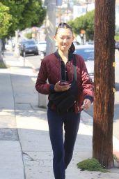 Jaime Xie in Comfy Outfit - Los Angeles 05/17/2021