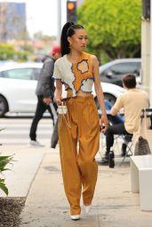 Jaime Xie is Stylish - Los Angeles 05/19/2021