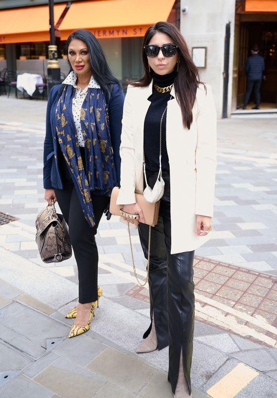Jeanine Sothcott Nerissa and Courtenay Semel - London 05/14/2021