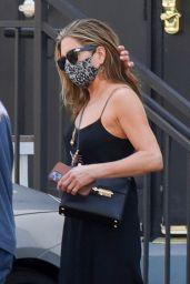 Jennifer Aniston - Leaves a Hair Salon in Beverly Hills 05/23/2021