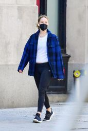 Jennifer Lawrence in Casual Outfit - New York 05/12/2021