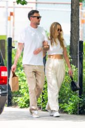 Jennifer Lawrence With Her Husband - New York 05/22/2021
