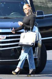 Jennifer Lopez - Boarding a Private Plane in Miami 05/27/2021