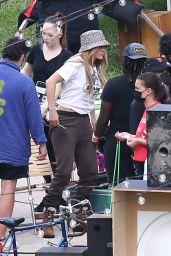 "Jennifer Lopez - Filming For ""Coach"" in Miami"" 05/12/2021"