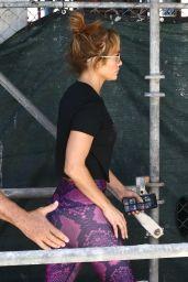 Jennifer Lopez in Workout Gear - Miami 05/26/2021