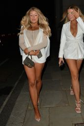 Jess Gale and Eve Gale Night Out in London 05/17/2021