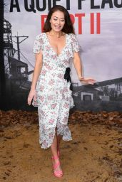 "Jess Impiazzi – ""A Quiet Place Part II"" Screening in London"