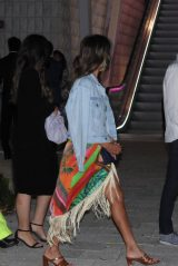 Jessica Alba at ZZ's Club Restaurant in Miami 05/08/2021