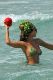 Jessica Alba in a Bikini - Miami 05/08/2021