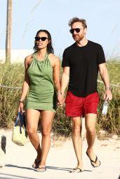 Jessica Ledon at the Beach in Miami Beach 05/26/2021