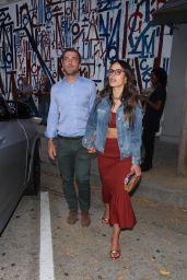 Jordana Brewster and Mason Morfit - Craig's in West Hollywood 05/25/2021