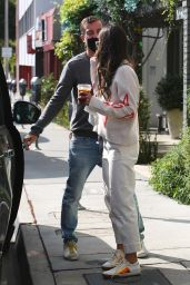 Jordana Brewster and Mason Mortig - Out in Brentwood 05/17/2021