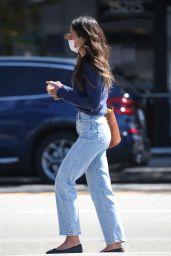 Jordana Brewster in Casual Outfit - Santa Monica 05/24/2021