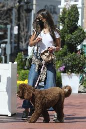 Jordana Brewster - Out in Pacific Palisades 05/11/2021