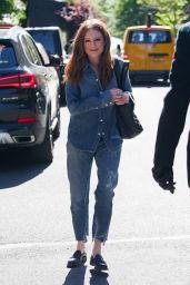 Julianne Moore - Running Errands in NYC 05/27/2021