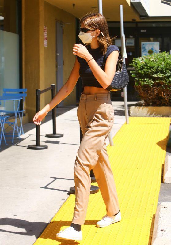 Kaia Gerber Street Style - West Hollywood 05/03/2021