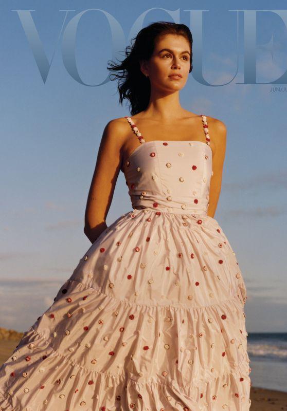 Kaia Gerber - Vogue Magazine June/July 2021