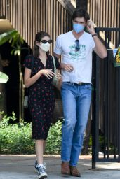 Kaia Gerber with Boyfriend Jacob Elordi - Shopping in LA 05/22/2021