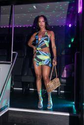Karrueche Tran Night Out Style - Kiki on the River in Miami 05/23/2021