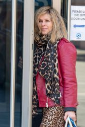 Kate Garraway - Leaving the Global Studios in London 05/11/2021
