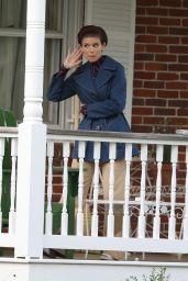 "Kate Mara - Filming ""Call Jane"" in Hartford 05/17/2021"