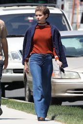 "Kate Mara on the Set of ""Call Jane"" in Hartford 05/21/2021"
