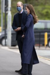 Kate Middleton - Visits The Way Youth Zone in Wolverhampton 05/13/2021
