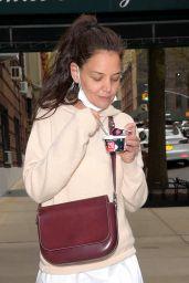 Katie Holmes Cute Street Stytle - New York 04/26/2021