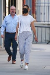 Katie Holmes in Casual Outfit - New York 05/27/2021