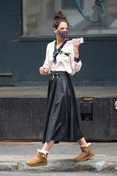 Katie Holmes in Tribeca, New York 05/03/2021