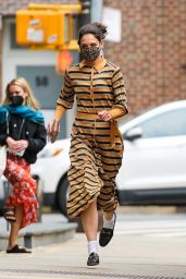 Katie Holmes - Out in Tribeca 05/03/2021
