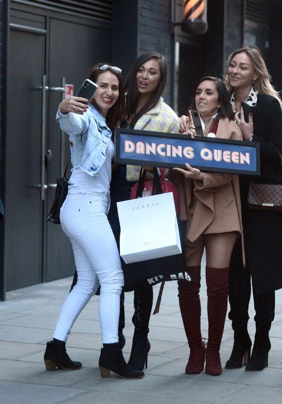 Katya Jones, Janette Manrara and Luba Mushtuk - Out in London