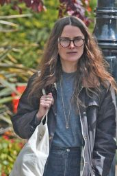 Keira Knightley in Casual Attire - Out in Bromley 05/10/2021