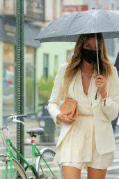 Kelly Bensimon in a White Dress - New York 05/05/2021