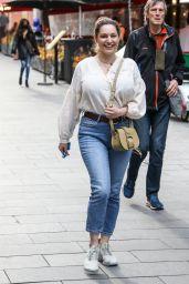Kelly Brook Street Style - London 05/19/2021