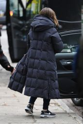 Kelly Macdonald - Filming for Amazon Prime in London 05/14/2021