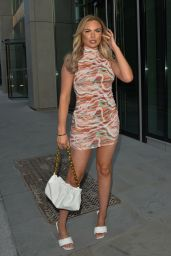 Kelsey Stratford Night Out Style - Mayfair 05/30/2021