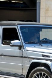 Kendall Jenner in Her Convertible Mercedes G-Wagon - Beverly Hills 05/12/2021