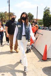 Kendall Jenner Street Style - Mel & Rose Wine, Spirits & Gifts in LA 05/17/2021