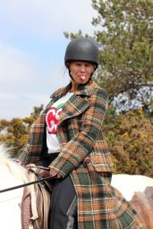 Kerry Katona - Horse Riding in Sussex 05/30/2021