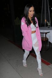 Keshia Chanté - Out to Dinner in Beverly Hills 05/05/2021