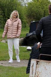 Kimberly Wyatt - Out in Leighton Buzzard 05/12/2021