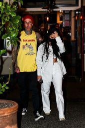 Kourntey Kardashian and Travis Barker - Out in Calabsas 05/25/2021