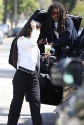 Kourtney Kardashian at Cha Cha Matcha in West Hollywood 05/07/2021