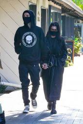 Kourtney Kardashian at Taverna Tony in Malibu 05/11/2021