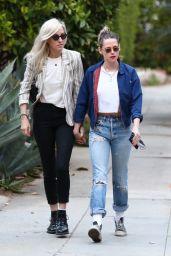 Kristen Stewart With Her Girlfriend Dylan Meyer - Los Angeles 05/11/2021