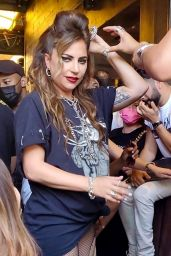 Lady Gaga at The Abbey Food & Bar in West Hollywood 05/23/2021