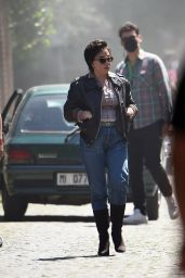 """Lady Gaga - Filming """"House of Gucci"""" in Rome 04/30/2021"""